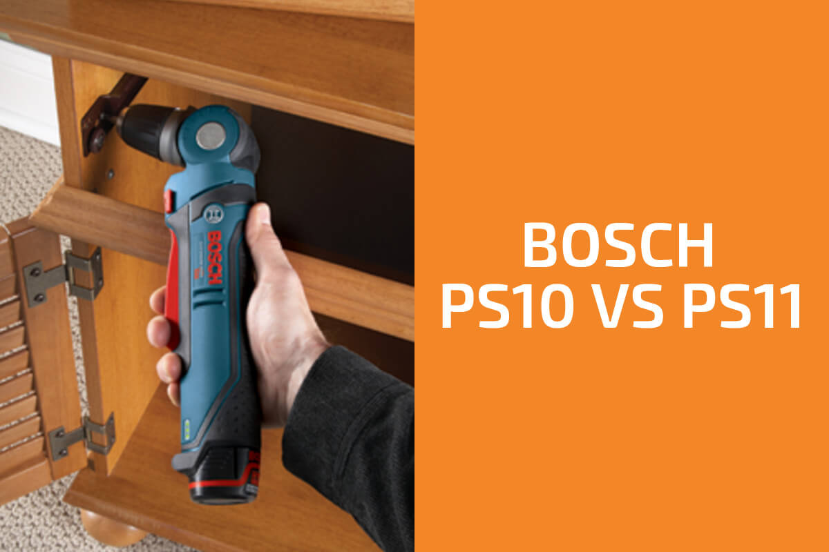Bosch PS10 vs. PS11: Which Right-Angle Drill to Get?
