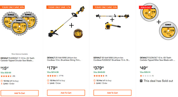 Dewalt Milwaukee Tool Deals of the Day 02032020 Page 3