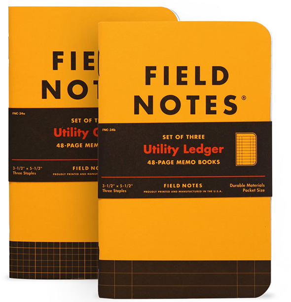 Field Notes Utility Notepads